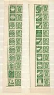 Reclamezegels Staatswapen, 35c., In 2 Stroken, XX - Publicités