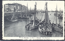 46. OSTENDE - Le Port - OSTEND  The Harbour - Oostende