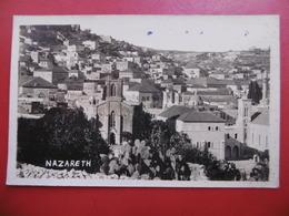 NAZARETH ISRAEL CARTE PHOTO 1929 - Israele