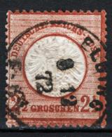 Germania Reich 1872 2,5g. Unif.18 O/Used VF/F - Deutschland