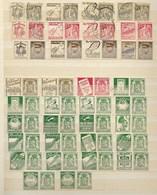 Samenstelling Reclamezegels Staatswapen,  Ceres, ,Albert I, 35c., In 2 Stroke, XX En Gestempeld - Publicités
