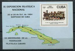 Cuba 1990 / Railways Trains MNH Trenes Züge / Cu4918 40-54 - Trenes