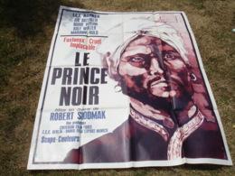 Grande Affiche Cinema Illustrateur Le Prince Noir Robert Siodmak - Posters