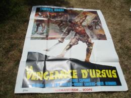 Grande Affiche Cinema Illustrateur Peplum La Vengeance D Ursus Gladiateur - Posters