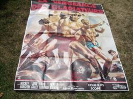 Grande Affiche Cinema Peplum Illustrateur La Vengeance Des Gladiateurs - Posters