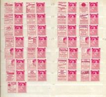 Reclamezegels, Leopold III, PU 143/71 XX - Publicités