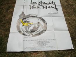 Grande Affiche Cinema Illustration Juliette Binoche Les Amants Du Pont Neuf - Posters