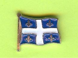 Pin's Drapeau Du Québec - 9I22 - Badges