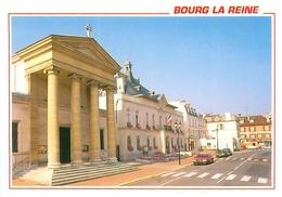 Cpsm -     Bourg La Reine -  L 'église St Gilles Et La Mairie               V634a - Bourg La Reine