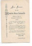 ZA/19/ MEERBEEK   1e H.MIS 1902  E.H.CLEMENT ULENS - Religion & Esotérisme