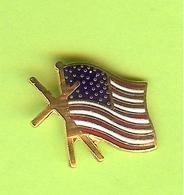 Pin's Drapeau Des États-Unis - 2U05 - Badges