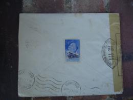 1940 Lettre Ouverture Censure Autorite Militaire H D 111 Sur Lettre  Pour Geneve O - Marcophilie (Lettres)