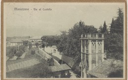 MORAZZONE-VARESE-VIA AL CASTELLO-CARTOLINA VIAGGIATA IL 18-3-1920 - Varese