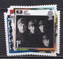 Great Britain 2007 - The 50th Anniversary Of The Beatles - Self-Adhesive Stamps - 1952-.... (Elizabeth II)
