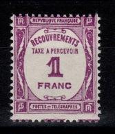 Taxe YV 59 N** Cote 32 Euros - Segnatasse