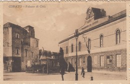 CORATO-BARI-PALAZZO DI CITTA-CARTOLINA VIAGGIATA IL 13-1-1920 - Bari