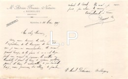 10-1814     1915 NOTAIRE ADRIEN BRUNIE A RICHELIEU - France