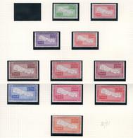 1954 - NEPAL  -  Mi. Nr.  81/91 - LH - (CW4755.41) - Nepal