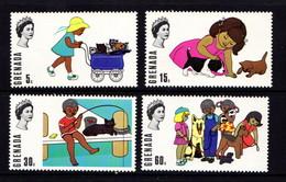 GRENADA    1970    Birth  Bicentenary  Of  William  Wordsworth    Set  Of  4    MH - Grenada (...-1974)