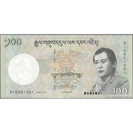 TWN - BHUTAN 32c - 100 Ngultrum 2015 Prefix N UNC - Bhutan