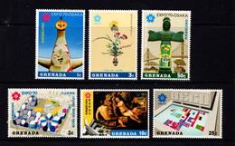 GRENADA    1970    World  Fair  Osaka   Set  Of  6    MH - Grenada (...-1974)