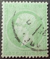 R1568/83 - NAPOLEON III N°35 - CàD - Cote : 230,00 € - 1862 Napoleon III