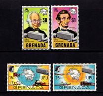 GRENADA    1970    New  U P U  Headquarters   Set  Of  4    MH - Grenada (...-1974)