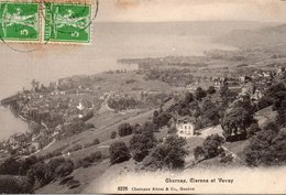Suisse -    Canton  De  Vaud -  Chernex, Clarens  Et  Vevey. - VD Vaud