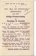 ZA/19/  DENDERBELLE   1932   1e H.MIS     E.H. OSCAR DE GROOTE - Religion & Esotérisme