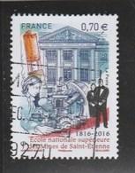 FRANCE 2016 ECOLE NAT SUP DES MINES DE SAINT ETIENNE OBLITERE YT 5066 - France
