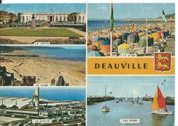 DEAUVILLE  ( CALVADOS )     MULTI-VUES - Deauville