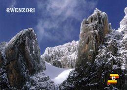1 AK Uganda * Rwenzori-Mountains - Das Dritthöchste Gebirge Afrikas - Seit 1994 UNESCO Weltnaturerbe * - Uganda