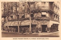 "¤¤  -  PARIS   -   Restaurant, Bar, Poissonnerie  -  Maison "" PRUNIER-TRAKTIR "" 16 Avenue Victor-Hugo     -  ¤¤ - Arrondissement: 16"