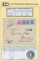 Houyoux - N°200 Et 257 X3 Sur Lettre En Expres + Griffe TRAM Vers Berne. Verso Vignette De Fromage + Cachet Télégr. Suis - 1922-1927 Houyoux