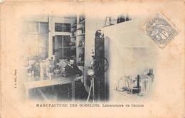 ¤¤  -  PARIS   -  Manufacture Des Gobelins  -  Laboratoire De Chimie  -  42 Avenue Des Gobelins     -  ¤¤ - Arrondissement: 13