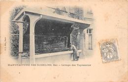 ¤¤  -  PARIS   -  Manufacture Des Gobelins  -  Bac De Lavage Des Tapisseries  -  42 Avenue Des Gobelins     -  ¤¤ - Arrondissement: 13