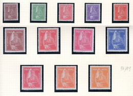 1959 - NEPAL  -  Mi. Nr.  98/109 - LH - (CW4755.42) - Nepal