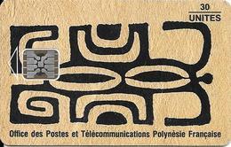 CARTE-PUCE-POLYNESIE-PF20-SC5-30U-HONU-KAKAA-LE LEZARD-N° Série C3C043446-UTILISE-TBE- - Polynésie Française