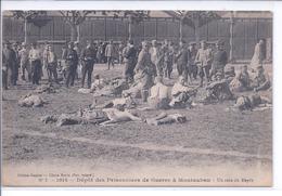 CPA - MONTAUBAN - Dépot Des Prisonniers De Guerre à Montauban - Un Coin Du Dépt - Montauban