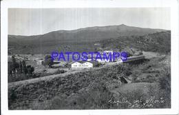 116094 ARGENTINA CORDOBA CAPILLA DEL MONTE STATION TRAIN ESTACION DE TREN NEVADA PHOTO NO POSTAL POSTCARD - Argentine