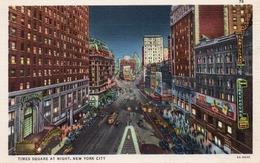TIMES SQUARE AT NIGHT-NEW YORK CITY-VIAGGIATA - Time Square