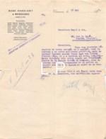 4-0992    LETTRE 1913  BANK HANDLOWY W WARSZAWIE A VARSOVIE - 1900 – 1949