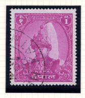 1960 - NEPAL  -  Mi. Nr.  134 - Used - (CW4755.42) - Nepal