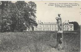 D92 -RUEIL-CHÂTEAU DE LA MALMAISON-ANCIENNE RESIDENCE DE L'EMPEREUR NAPOLEON 1er ET DE L'IMPERATRICE JOSEPHINE-Statue - Rueil Malmaison