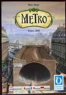 JEU DE SOCIETE - Métro - Edition Queen Games 2005 - Jeux De Société