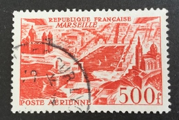 FRANCE - YT N°  PA 27 - Canceled  Cote: 7 € Marseille - Airmail