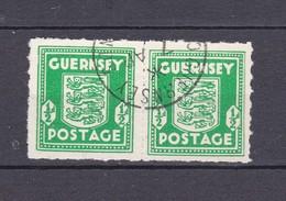 Guernsey - 1941/44 - Michel Nr. 1 Paar - 20 Euro - Occupation 1938-45