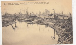 WAR / GUERRE / OORLOG  1914-18  / DIKSMUIDE / HANDZAME KANAAL - Guerre 1914-18