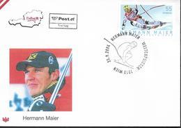 2004 Österreich  Austria Mi.  2497 FDC   Skirennfahrer :Hermann Maier - FDC