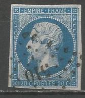 FRANCE - Oblitération Petits Chiffres LP 510 BRESSUIRE (Deux-Sèvres) - Marcofilie (losse Zegels)